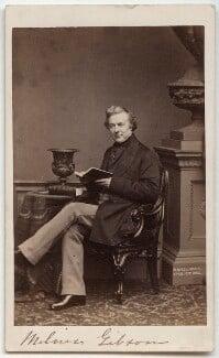 Thomas Milner Gibson, by John Jabez Edwin Mayall - NPG x21355