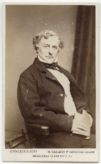 Thomas Milner Gibson, by William Walker & Sons, 1865 - NPG x21356 - © National Portrait Gallery, London