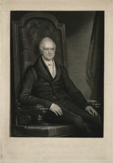 Nicholas Vansittart, Baron Bexley, by Charles Turner, after  John Goffe Rand - NPG D31750