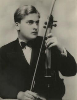 Yehudi Menuhin, by Unknown photographer - NPG x20676