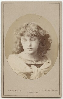 May Morris, by Robert Faulkner & Co - NPG x129530