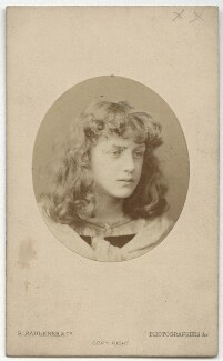 May Morris, by Robert Faulkner & Co - NPG x129532