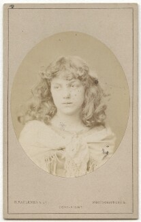 May Morris, by Robert Faulkner & Co - NPG x129535