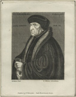 John Chambre (Chamber, Chambers), after Hans Holbein the Younger - NPG D24842