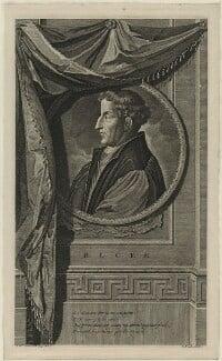 Martin Bucer (Butzer), by Gerard Valck, after  Adriaen van der Werff - NPG D24850