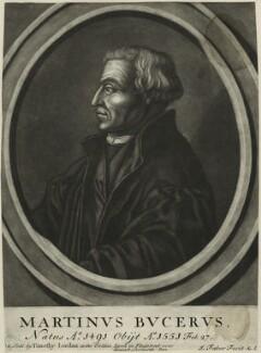 Martin Bucer (Butzer), by John Faber Sr - NPG D24852