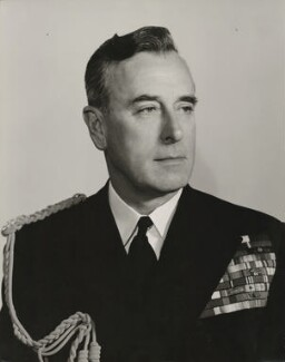 Louis Mountbatten, Earl Mountbatten of Burma, by Walter Bird - NPG x28757