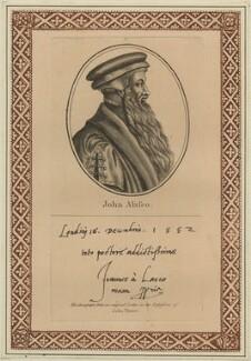 John à Lasco, after Unknown artist - NPG D24857