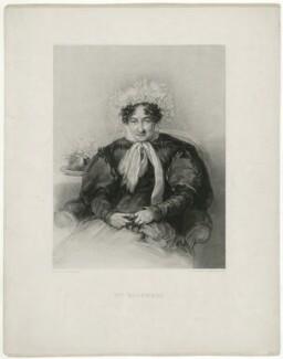 probably Lucinda Sarah Bicknell (née Browne), by James R. Mackrell, after  Stephen Poyntz Denning - NPG D31758