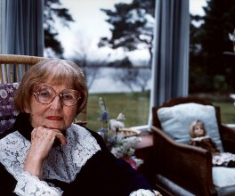 Catherine Cookson, by Chris Hay, 1987 - NPG x29578 - © Chris Hay