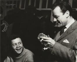 Dudley Sutton; Frank Norman, by Ida Kar - NPG x129546