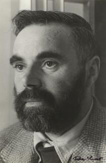 Victor Pasmore, by Ida Kar, 1954 - NPG x129549 - © National Portrait Gallery, London