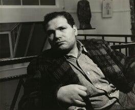 Sir Eduardo Paolozzi, by Ida Kar, 12 November 1958 - NPG x129550 - © National Portrait Gallery, London
