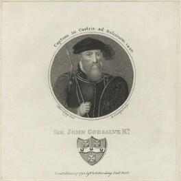 Sir John Godsalve, by R. Clamp, published by  E. & S. Harding, after  Silvester (Sylvester) Harding - NPG D24864