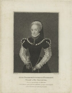 Anne Seymour (née Stanhope), Duchess of Somerset, by Thomas Nugent, published by  Edward Harding, after  Silvester (Sylvester) Harding - NPG D24869