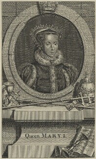 Queen Mary I, after Unknown artist - NPG D24877