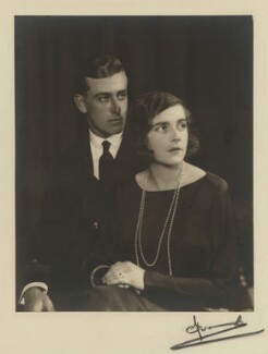 Louis Mountbatten, Earl Mountbatten of Burma and Edwina Cynthia Annette, Countess Mountbatten of Burma, by Madame Yevonde - NPG x26405