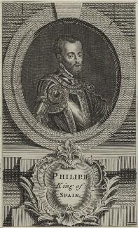 Philip II, King of Spain, after Unknown artist - NPG D24886