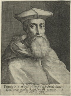 Reginald Pole, possibly by Willem de Passe - NPG D24898
