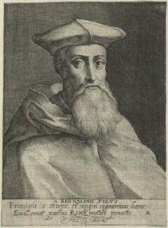 Reginald Pole, by Magdalena de Passe, or by  Willem de Passe - NPG D24898