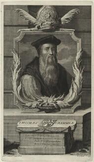 Thomas Cranmer, by Pieter Stevens van Gunst, after  Adriaen van der Werff, 1707 - NPG D24905 - © National Portrait Gallery, London