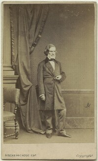 John Gibson, by London Stereoscopic & Photographic Company - NPG x129554