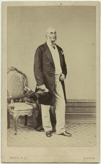 Sir Francis Grant, by Maull & Co - NPG x129555