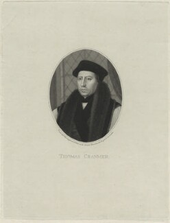 Thomas Cranmer, by Anthony Cardon - NPG D24909