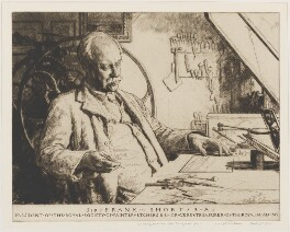 Frank Short, by Malcolm Osborne, 1931 - NPG D31764 - © reserved; collection National Portrait Gallery, London