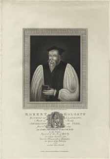 Robert Holgate, by James Stow, published by  Robert Wilkinson, after  Unknown artist - NPG D24913