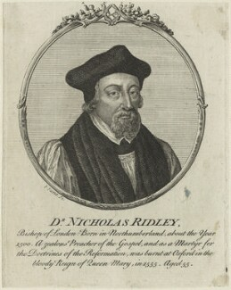 Nicholas Ridley, by John June - NPG D24915