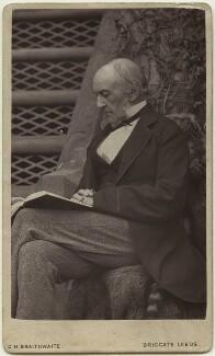 William Ewart Gladstone, by Charles Henry Braithwaite - NPG x76200