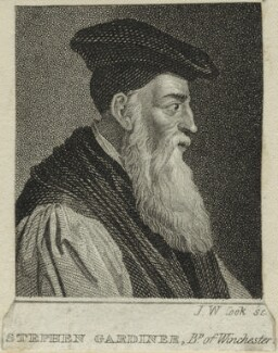 Stephen Gardiner, by John William Cook - NPG D24921
