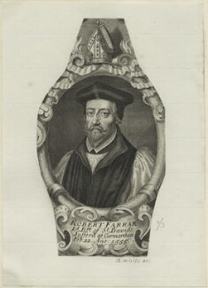 Robert Farrar, possibly by Robert White - NPG D24925