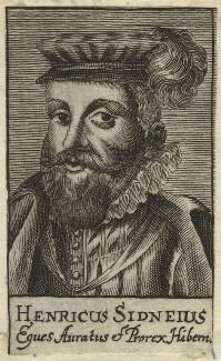 Sir Henry Sidney, after Magdalena de Passe, after  Willem de Passe - NPG D31768