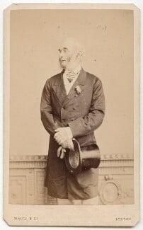 Sir Francis Grant, by Maull & Co - NPG x45944