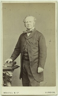 Granville George Leveson-Gower, 2nd Earl Granville, by Maull & Co - NPG Ax39933