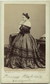 Princess Mathilde Bonaparte, by Disdéri - NPG x6074