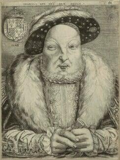 King Henry VIII, by Cornelis Metsys (Massys), 1548 - NPG D24928 - © National Portrait Gallery, London
