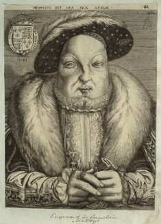 King Henry VIII, by Cornelis Metsys (Massys), 1545 - NPG D24929 - © National Portrait Gallery, London