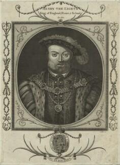 King Henry VIII, by John Goldar - NPG D24933
