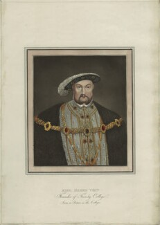 King Henry VIII, published for Rudolph Ackermann, 1814-1815 - NPG D24934 - © National Portrait Gallery, London