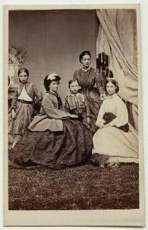 The family of Christian IX, King of Denmark, by J. Petersen, September 1867 - NPG x28785 - © National Portrait Gallery, London