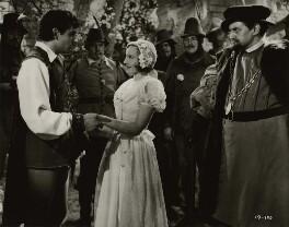 Laurence Kerr Olivier, Baron Olivier, Elisabeth Bergner and six actors, by Unknown photographer - NPG x45134