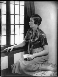 Elizabeth Mary Yarde-Buller (née Du Pre), Lady Churston, by Bassano Ltd - NPG x151765