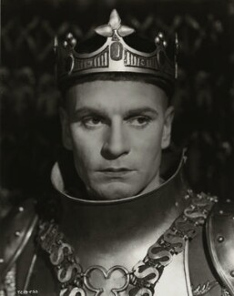 Laurence Kerr Olivier, Baron Olivier, by Unknown photographer - NPG x45136