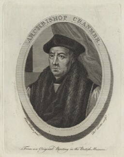 Thomas Cranmer, by Thomas Trotter, after  Hans Holbein the Younger - NPG D24942