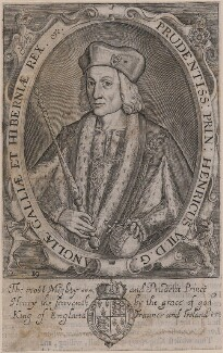 King Henry VII, by Renold or Reginold Elstrack (Elstracke), after  Unknown artist - NPG D31777