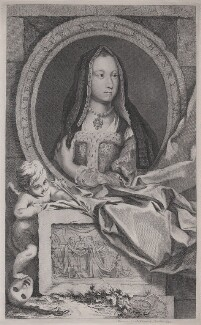 Elizabeth of York, published by John & Paul Knapton, published 1747 - NPG D31778 - © National Portrait Gallery, London
