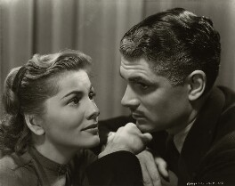 Joan Fontaine and Laurence Kerr Olivier, Baron Olivier, by Unknown photographer - NPG x45138